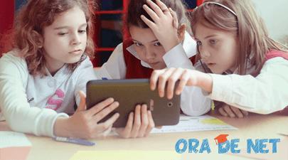 Salvați Copiii România lansează cea mai interactivă oră - Ora de Net