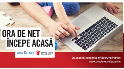 Ora de Net lansează extensia Chrome #FărăUrăPeNet