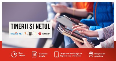 Studiul Tinerii și net-ul