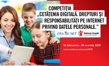 Cetățenia digitală. Drepturi și responsabilități pe Internet privind datele personale