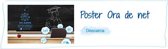 Poster Ora de Net