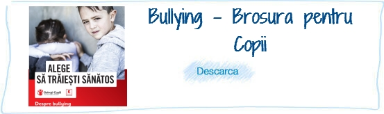 Bullying - Brodura pt Copii