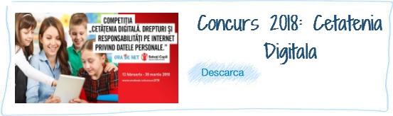 Concurs 2018 Arhiva